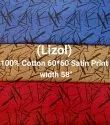 Cotton Satin Shirting Fabric (Lizol)