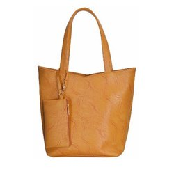 Azzra Mustard Shoulder and Tote handbag With Mobile Pouch