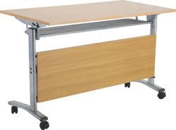 Cafeteria Folding Table With Wheels