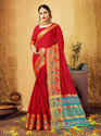 Woven Cotton Silk Saree