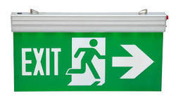 Hanging Exit Light