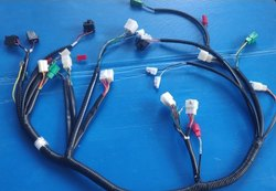 Black Engine Wiring Harness, for Automotive, Packaging Type: Box