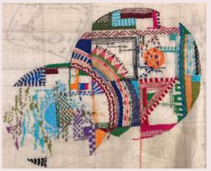 Kantha Embroidery Embroidered Fabric Textiles Craft Village