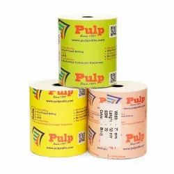 PULP POS Thermal Billing Rolls 78 / 79 / 80 mm (3 inch). 75 GSM. 50 meter