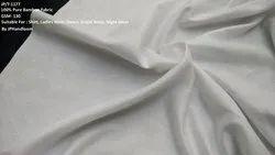 100% Bamboo Plain Shirting Fabric