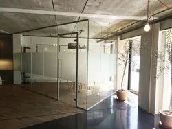 Saint Gobain Hinged Acoustic Glass Door
