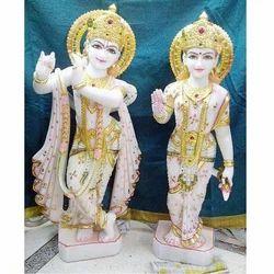 Stone Radha Krishna
