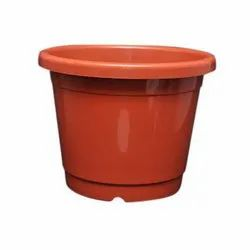 Brown Plastic Nursery Pots, For Home