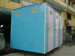 Bio Digested FRP Toilet Cabin