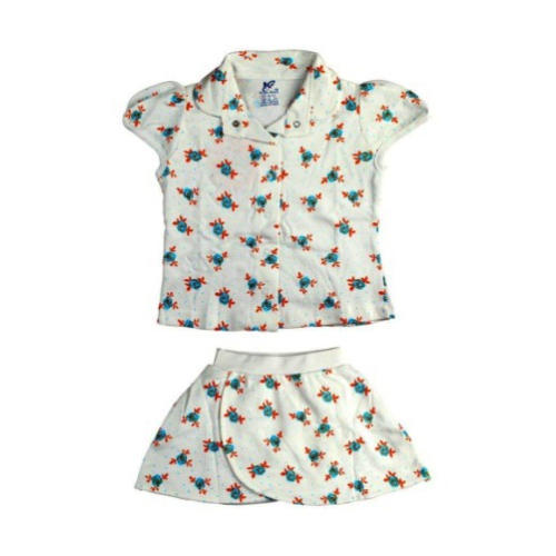 f23dfc286ffe Cotton Printed Baby Girl Skirt Top, Age: 1 Month To 4 Years, Rs 161 ...