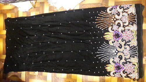 Velvet African George Fabric