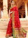 Silk Party Wear Paithani Saree
