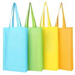 Plain Karam Green Bags Non-Woven Fabric Bag