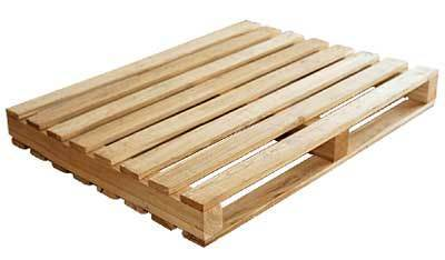 Natural Wooden Pallet, Dimension/Size: Anibady Size, Rs ...