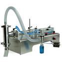 Semi Automatic Gravity Liquid Filling Machine