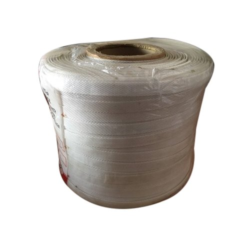 White Plain Box Strapping Roll, Packaging Type: Shrinked