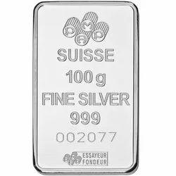 100 Gm Hallmark Silver Coin