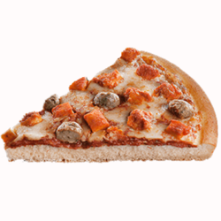Meat And Meat Pizza