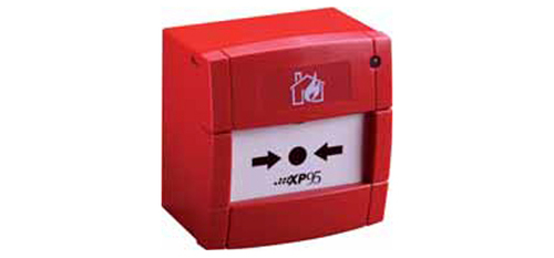 Agni Fire Alarm Manual Call Point With Isolator