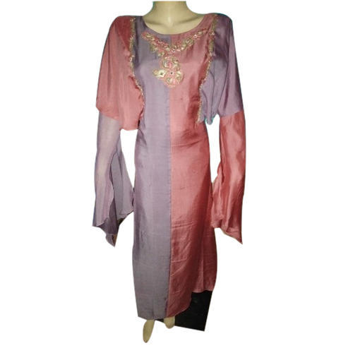 Rayon Free Size Ladies Full Sleeves Kurti