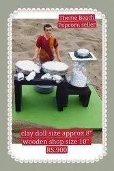 Clay Golu Doll