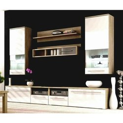 Wall Mounted furnituresfive Wooden TV Cabinet Panel