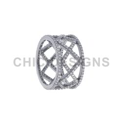 Diamond Designer Band Ring