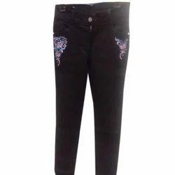 Black Ladies Denim Jeans, Size: 26-32