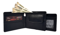 Black Wallet With Power Bank