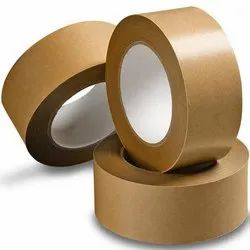 White Waterproof Gummed Self Adhesive Kraft Paper Tape Water Activated Tape