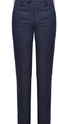 Blue Contemporary Fit Trouser