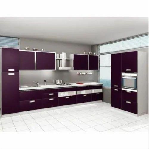 Modular Modern Kitchen Kitchen Cabinets Rs 1200 Square Feet Design Tree Interior Llp Id 20809165648