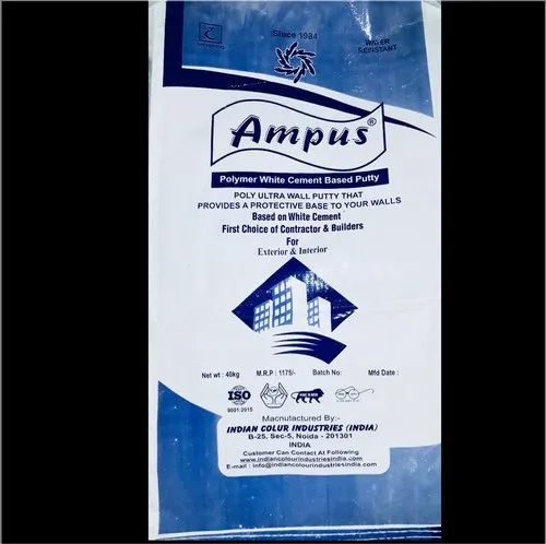 AMPUS Best Value Wall Putty, Packaging Size: 40 kg