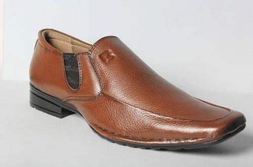 Bravo Men Tan Color Formal Shoes
