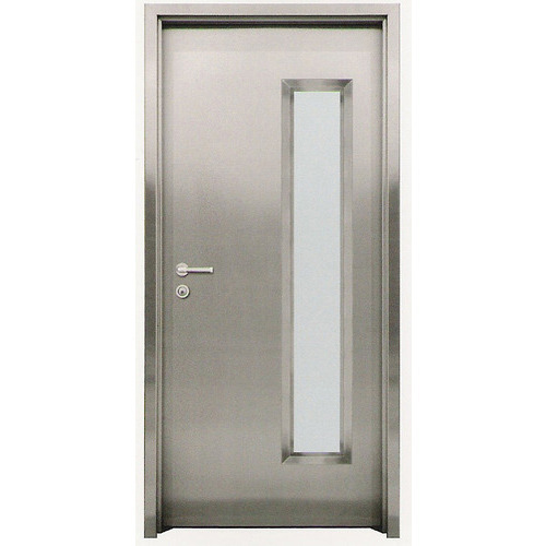 Stainless Steel Door  sc 1 st  IndiaMART & Stainless Steel Door at Rs 1800 /square feet | Stainless Steel Doors ...