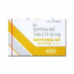 Sertima 50 mg Tablet