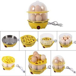 Egg Boiler Electric Automatic Off 14 Egg Poacher for Steaming, Cooking, Boiling