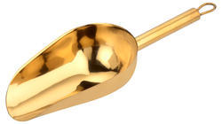 Heavy Bar Scoop Gold Coated