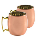 Solid SS-Copper Plating Hammered Moscow Mule Mug Diwali Gifting/Corporate Gifting