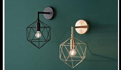 Craft Looks Down Metal Wall Lamp, For Home Decoration