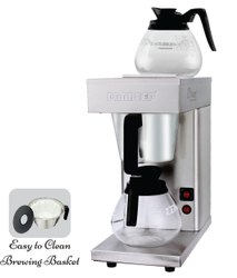 2400 Stainless Steel Black Coffee Brewer