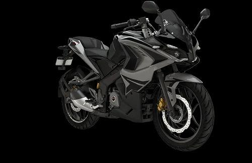 graphite black pulsar 200 rs abs bike rs 137491 ms maurya auto