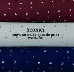Iconic (Cotton Satin Print)