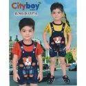 6-12 Years Printed Kids Boys Gallis Suit, Size: 0x2