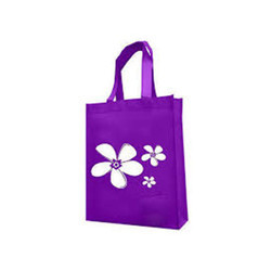 Printed Laminated Non Woven Bag With Side Gusset