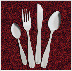 Enclave Cup Rolled Cutlery