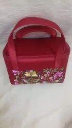 Art Silk Embroidered Bag