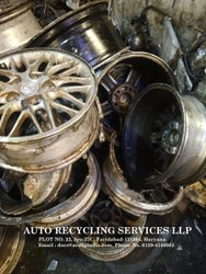 Heavy Vehicle Aluminium Alloy Wheel Scrap