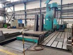 Mild Steel Used Floor Boring Machine, Automation Grade: Automatic