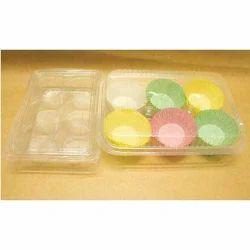 6 Pieces Cupcake Box